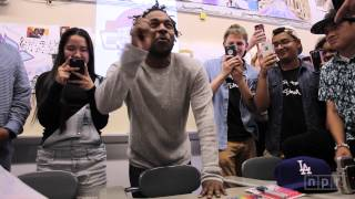 Kendrick Lamar Visits Mr. Mooney