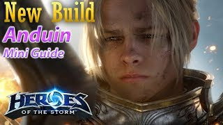 My new Anduin Build. Tons of healing,  while also correcting dumb mistakes.