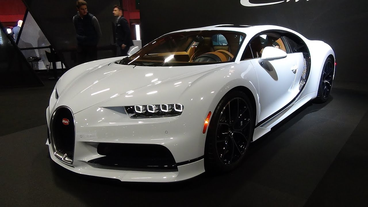 2019 Bugatti Chiron White Paris Autoshow 2018 Youtube