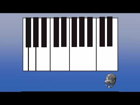 How to draw a musical ruler
