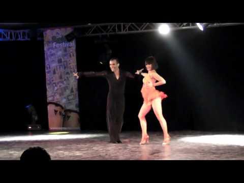 Franco Rocha y Judith Rodriguez - I ACM Salsa Fest...