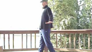 Balance Exercise:  Super Slow Motion Walking