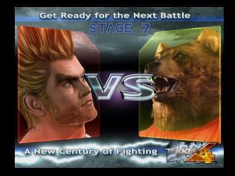 Tekken 4 - Story Mode - Paul