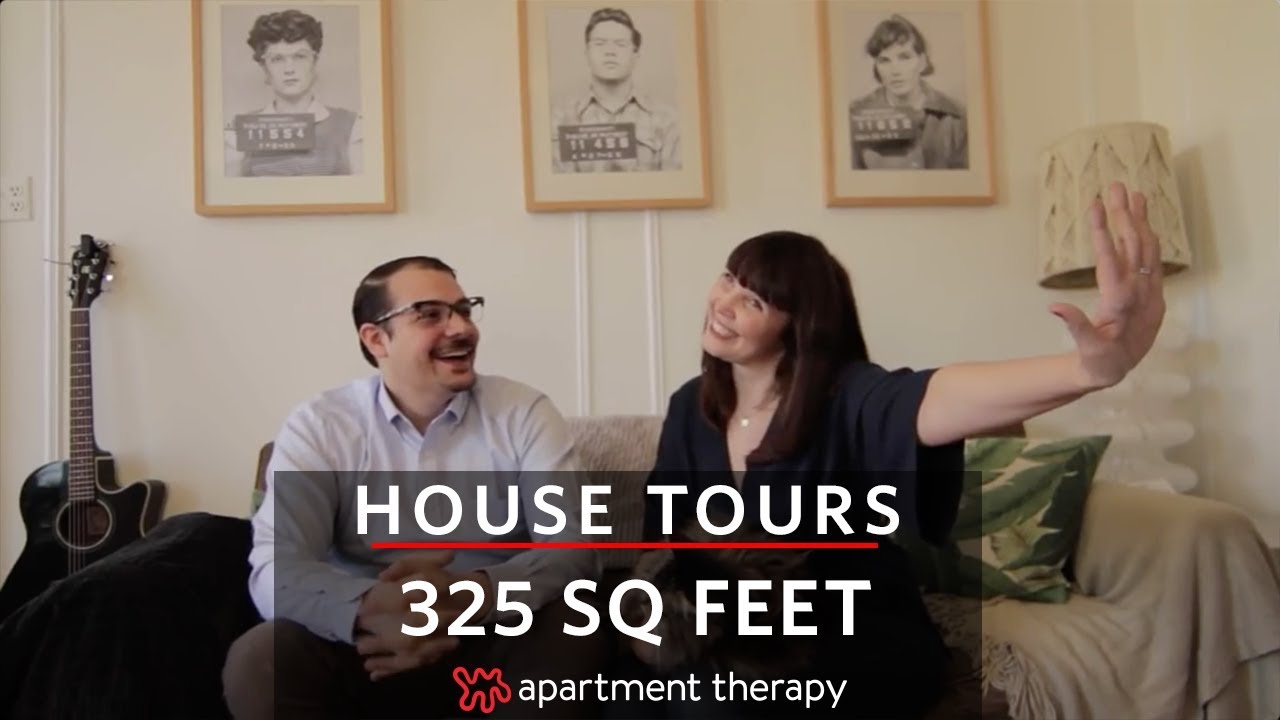 325 Square Feet in Brooklyn Apartment | House Tours | Apartment Therapy