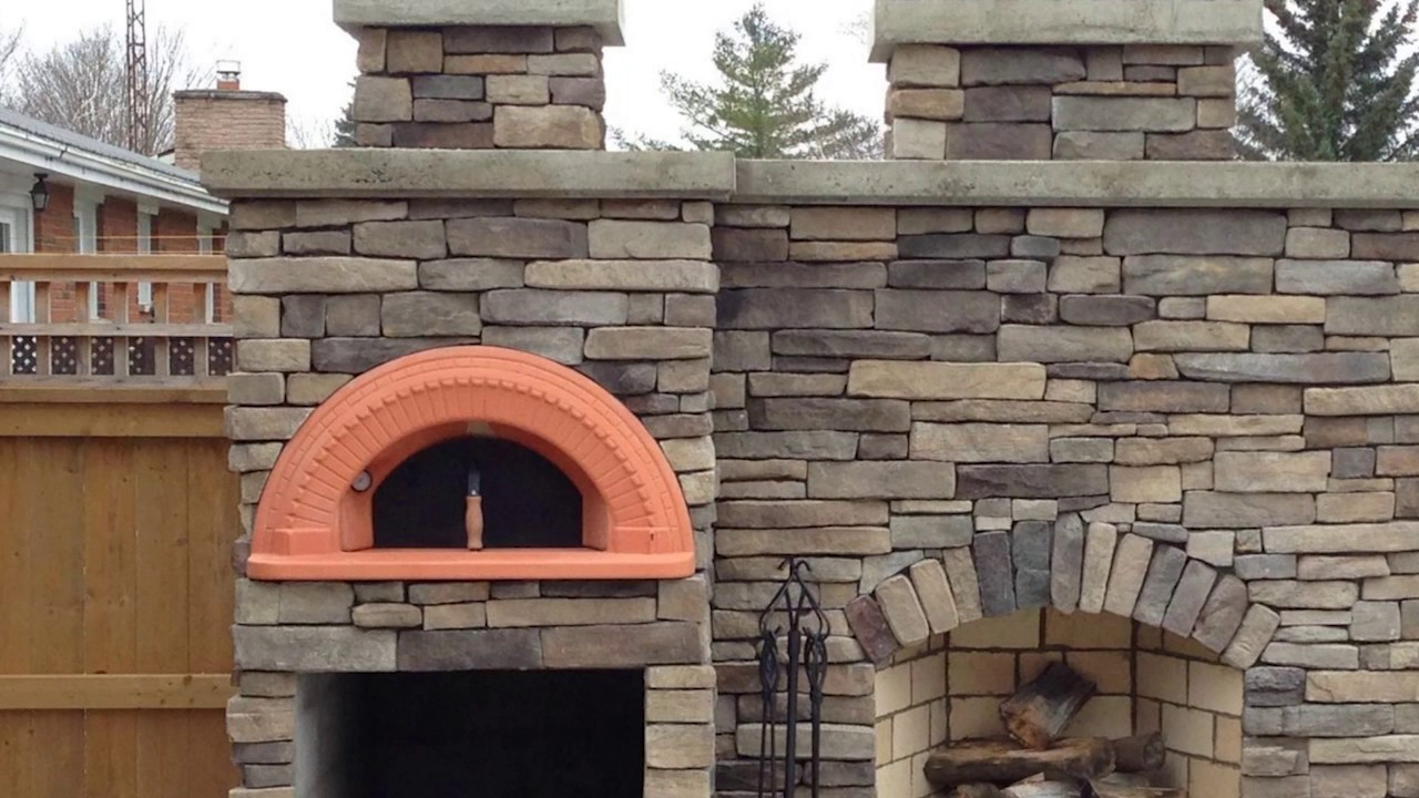 wood fired pizza oven kits by alfa forni italy youtube