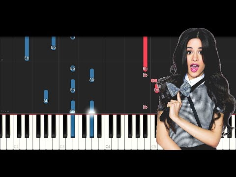 Camila Cabello - Something's Gotta Give (Piano Tutorial)