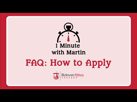 Frequently Asked Questions: How to Apply
