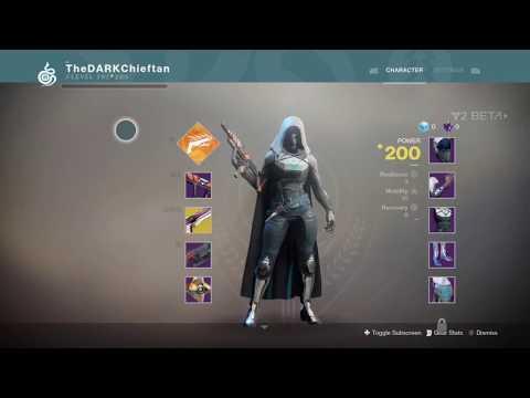 Destiny 2 Beta - Starting Hunter Weapons