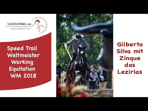 Gilberto Silva Speed Trail Weltmeister Working Equitation 2018