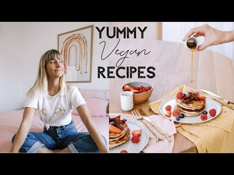 FULL DAY OF EATING   Healthy + VEGAN Recipes From My Cookbook