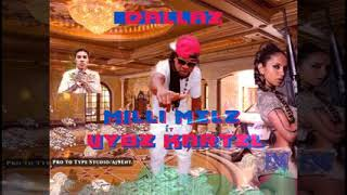Milli Melz x Vybz Kartel - Dallaz Remix [Audio Visualizer]