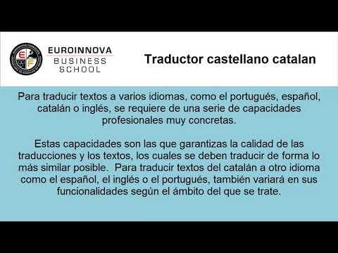 traductor castellano catalan