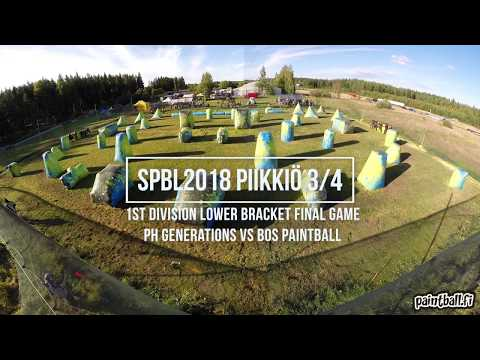 PH Generations vs BOS Paintball - SPBL2018 Piikkiö 3/4