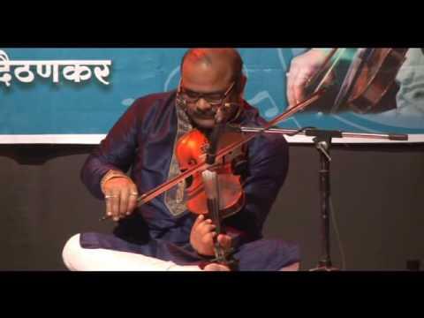 नीज माझ्या नंदलाला   Nij mazya nandlala   Violin Cover   Anil Daithankar