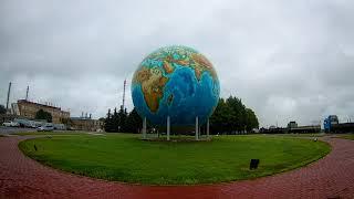 Второй по величине глобус в мире и первый в Европе