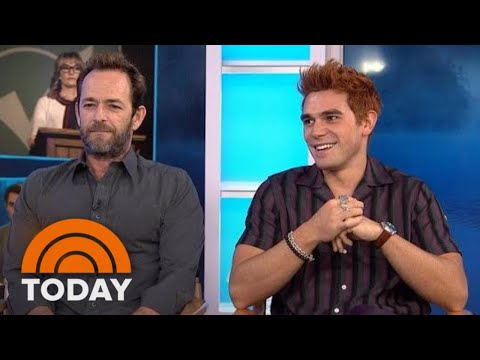 Luke Perry And KJ Apa Talk About Their Hit Show 'Riverdale' | TODAY