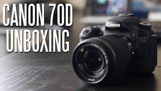 Video Canon EOS 70D DSLR Camera Unboxing download MP3, 3GP, MP4, WEBM, AVI, FLV November 2018
