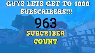 GETTING 1000 ABONNENTEN!!!   LiveStream Roblox Pokemon Ziegel Bronze