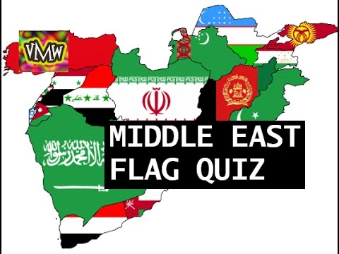 Middle East Flags Quiz - YouTube