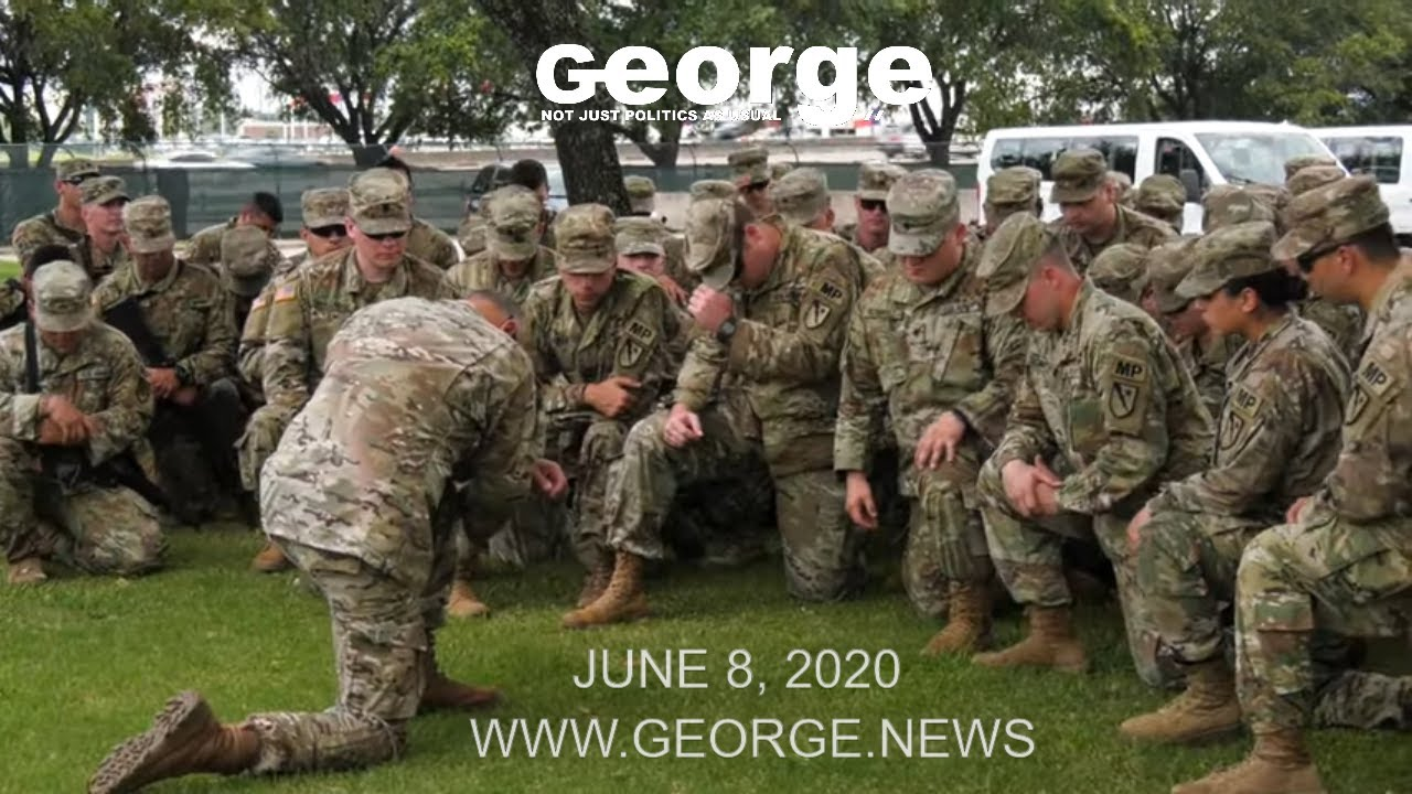 Texas Army National Guard Soldiers prepare to assist in Houston's civil unrest, June 8, 2020 B-ROLL