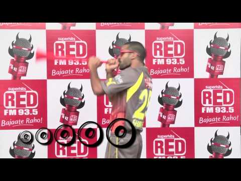 SunRisers Hyderabad's Players are dancing on 93.5 RED FM's Jingle!