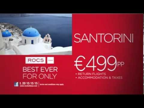 ROCS TRAVEL EUROVISION 2014 CAMPAIGN - SANTORINI