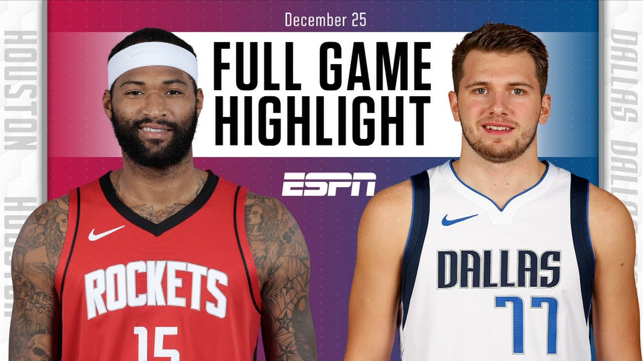Rockets vs. Mavericks - Game Recap - January 23, 2021 - ESPN