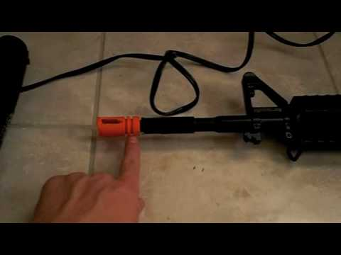 How to Remove Airsoft Orange Tip