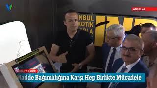 Narkotik TIR'ı Antalya'da
