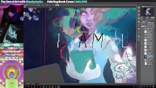 The Zen of Art with Wardyworks | Livestream Test 14/6/2018