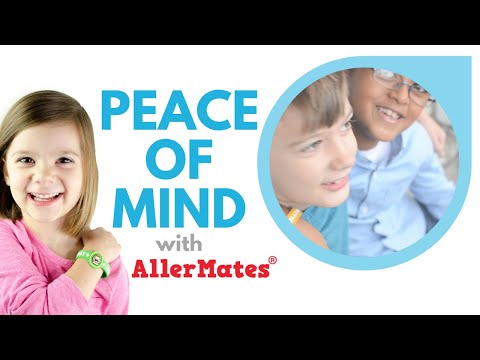 Peace of Mind with AllerMates Bracelets!
