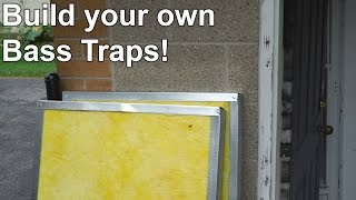 Build Your Own Bass Traps!  - Cheap!