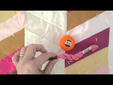 tying-or-knotting-quilt-layers