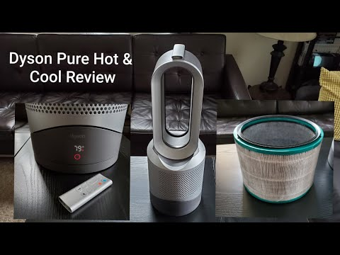 Dyson Pure Hot + Cool 12 months Later - Review and Demo HP01