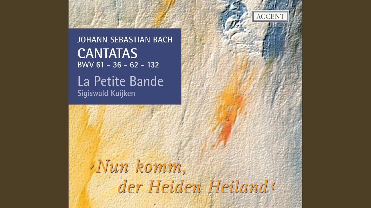 Der tur  Nun komm, der Heiden Heiland, BWV 61: Recitative: Siehe, ich stehe ...