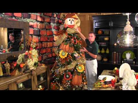 How to Decorate a Fall or Thanksgiving Tree