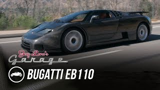 homepage tile video photo for Bare Carbon Fiber Bugatti EB110 By Dauer - Jay Leno's Garage