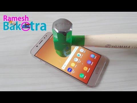 Samsung Galaxy J7 Pro Screen Scratch Test