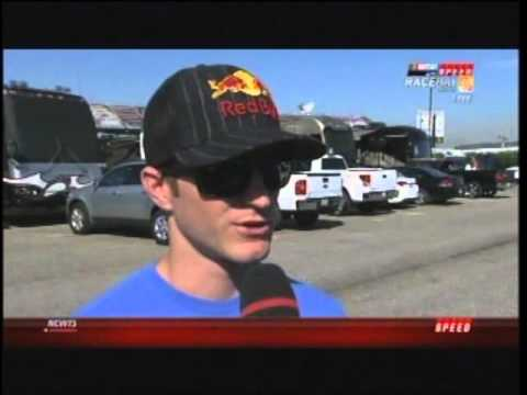 Kasey Kahne's Interview during RaceDay on SPEED 10/23/11