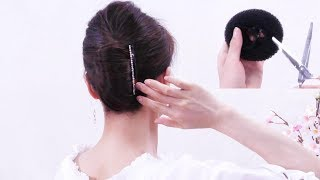 2 Minutes Quick Hair Arrangement /Self Made Hair Styles / You Can Do It Yourself