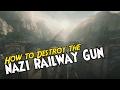 Sniper Elite 4 - How to DESTROY the NAZI RAILWAY GUN (Mission 3)