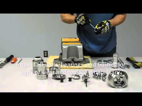 BETE HydroWhirl Orbitor Nozzle Assembly And Maintenance Instructions