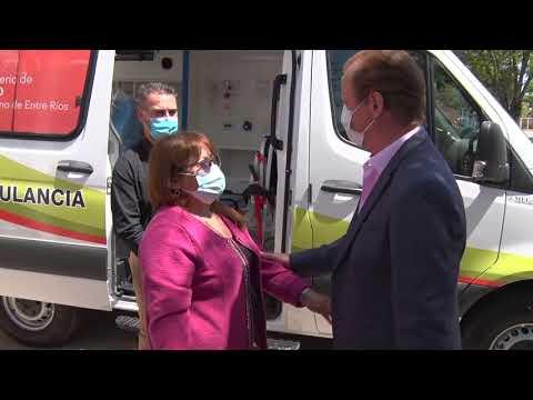 Bordet entregó ambulancias en el norte entrerriano