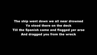 Flogging Molly - Salty Dog(with lyrics)