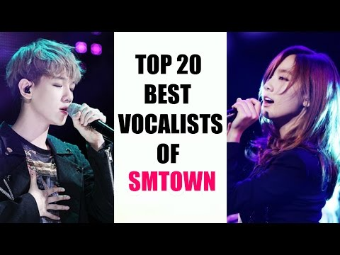 [TOP 20] Vocalists of SM Entertainment