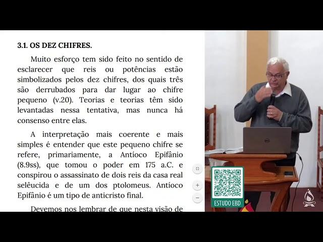 ESTUDO 3 - CARACTERÍSTICAS DO 4º ANIMAL (Estudo Expositivo de Daniel cap. 7)   Rev. Eloy H. Frossard