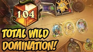 Total Wild Domination! | Rise of Shadows | Hearthstone