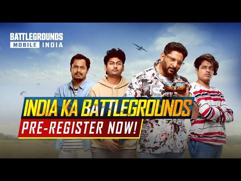 Pre-Register BATTLEGROUNDS MOBILE INDIA