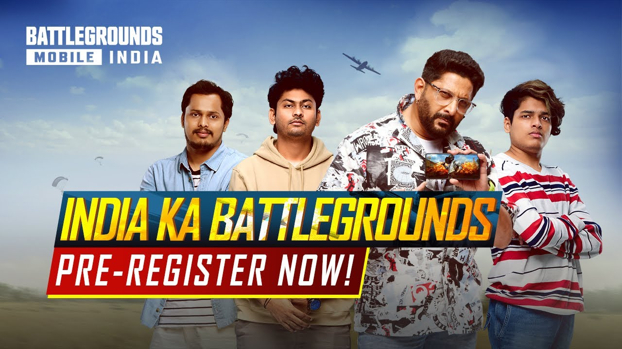 Pre-Register BATTLEGROUNDS MOBILE INDIA