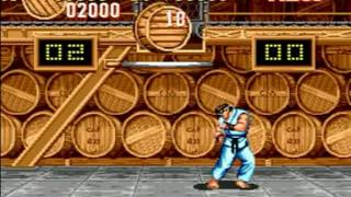Street Fighter 2 Turbo (Genesis) - Longplay as Ryu